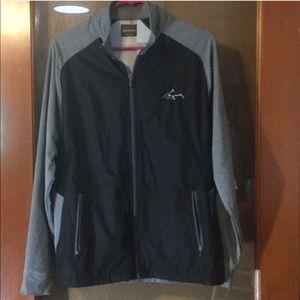 Greg Norman for Tasso Elba zipper Golf Jacket